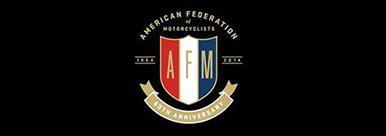 American Federation of Motorcyclists (AFM) Racing logo